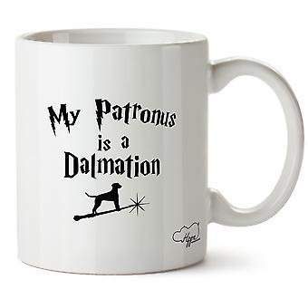Hippowarehouse mój Patronusa jest Dalmatyński Wydrukowano Kubek Kubek ceramiczny 10oz