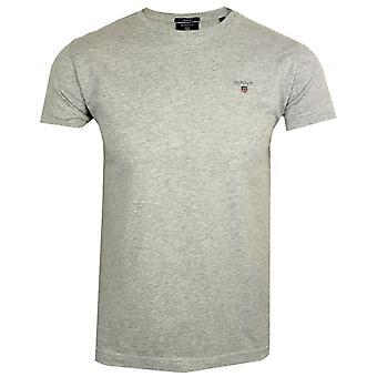 Gant ursprungliga Herrarnas ljus grå t-shirt