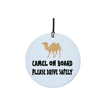 Camel On Board Car Air Freshener