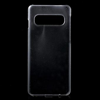 Samsung Galaxy S10 Shell en plástico duro transparente