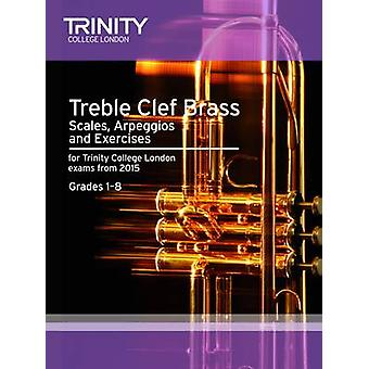 Brass Scales & Exercises - Treble Clef from 2015 - Grades 1 - 8 - 97808