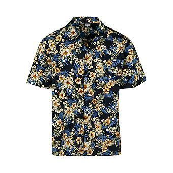 Urban klassikere mænds kortærmet skjorte mønster Resort shirt