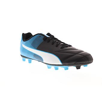 Puma Adreno II FG Hommes Black Leather Athletic Soccer Cleats Chaussures