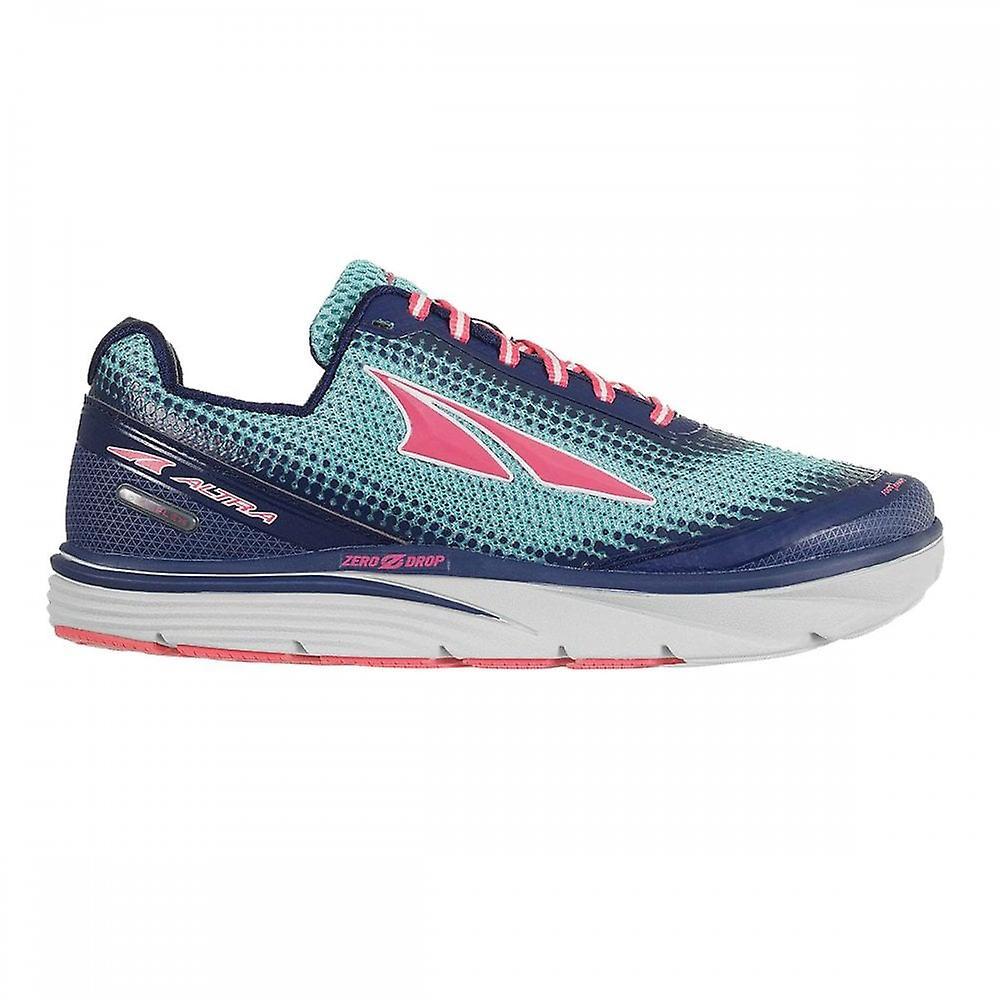 Altra Torin 3.0 Womens Zero Drop Road Running Shoes Blue/coral