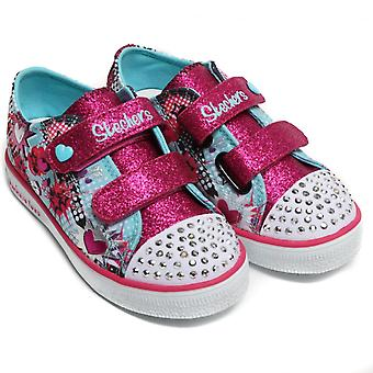 Twinkle Toes by Sketchers Twinkle Breeze Pop-Tastic Shoes