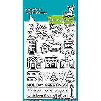 Lawn Fawn Winter Village Clear Stamps (LF1472)