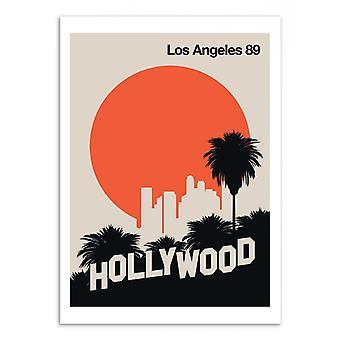 Art-Poster - Los Angeles 89 - Bo Lundberg