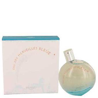 Eau Des Merveilles Bleue par Hermes Eau De Toilette Spray 3.4 Oz (femmes) V728-536587