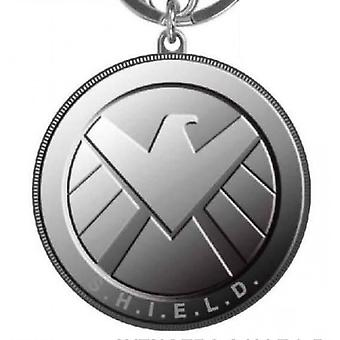 Metal Key Chain-Marvel-Avengers-S. H. I. E. L. D nya leksaker licensierade 68516