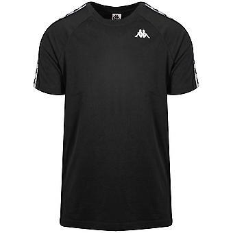 Kappa zwart Coen Banda T shirt
