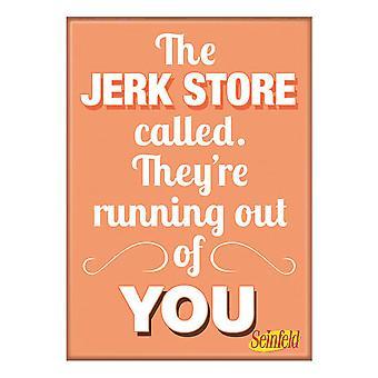 Seinfeld Jerk Store Magnet