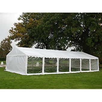 Partytält Exclusive 6x12m PVC, Vit, Panorama