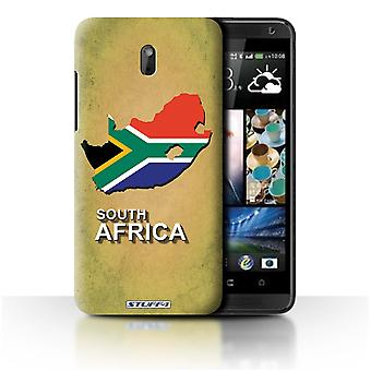 STUFF4 Case/Cover for HTC Desire 609d/South Africa/African/Flag Nations