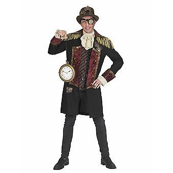 Steampunk Noble Explorer mäns kostym uppfinnare viktorianska adelsman mäns kostym