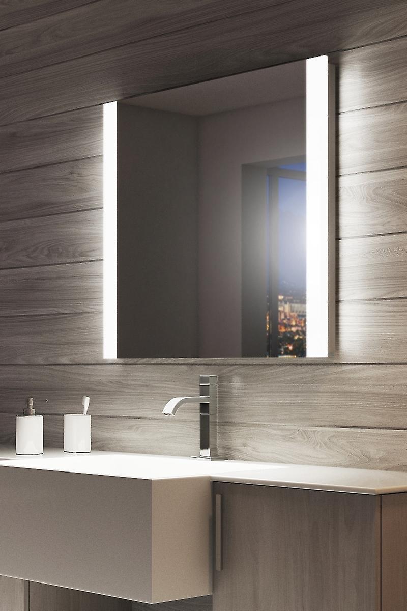Audio Double Edge Bathroom Mirror With RGB Underlighting k1113vrgbaud