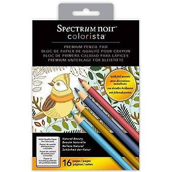Spectrum Noir Colorista 5 x 7 potlood pad-natuurlijke schoonheid