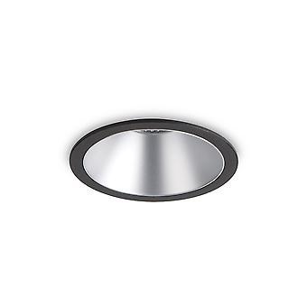 Ideal Lux Juego LED 1 Luz Empotrada Spotlight Negro IDL192321