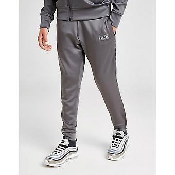 New Rascal Kids' Acronym Poly Walking Track Pants Grey