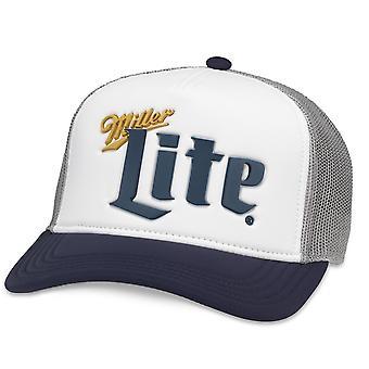Chapeau De camionneur de bière de Miller Lite