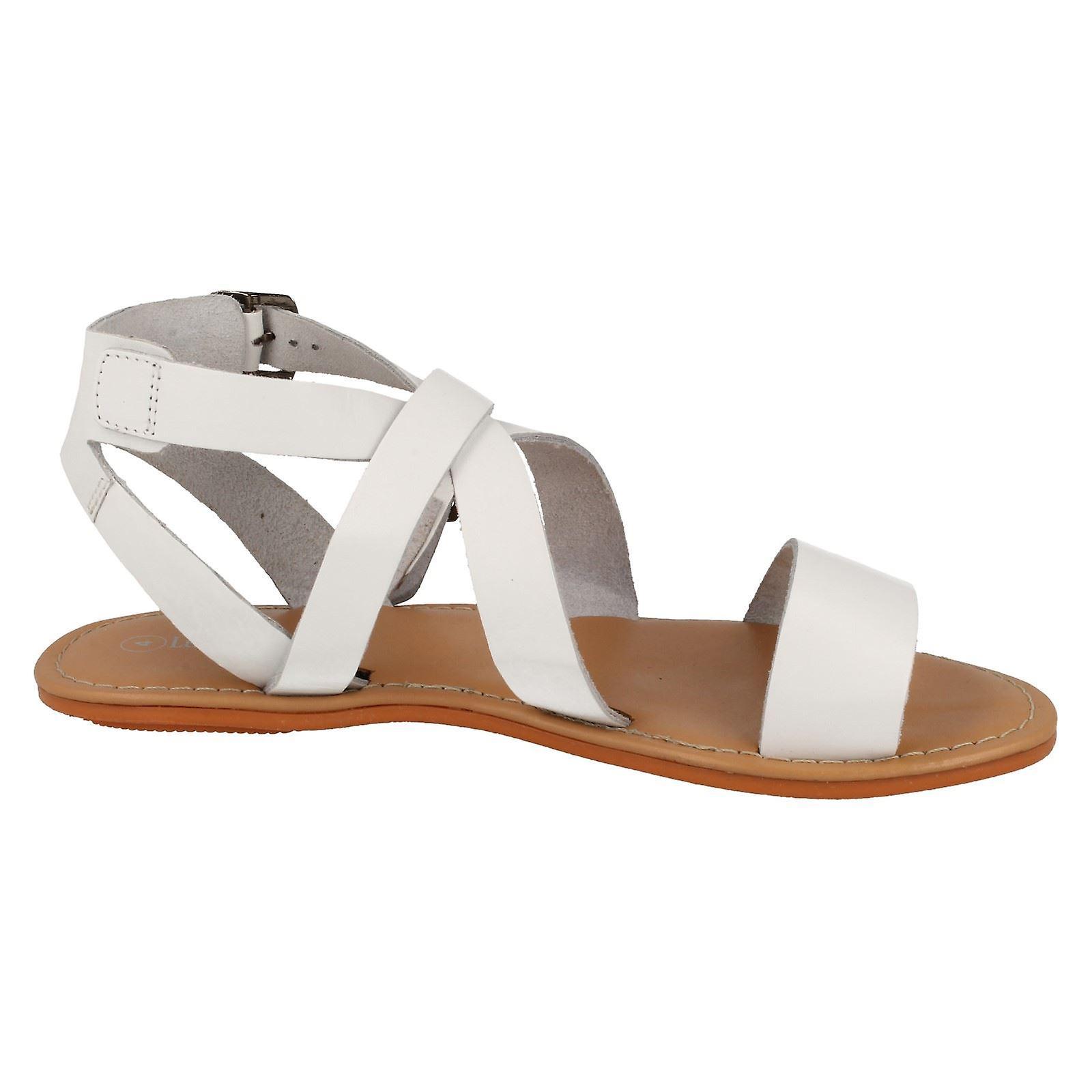 Skórzane damskie/Panie kolekcji lato paski sandały