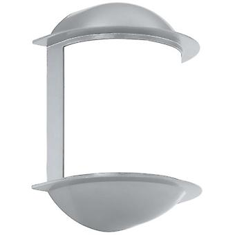 Wellindal Apply exterior LED Gx53 silver and white Isoba