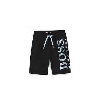 Hugo Boss Boys Black Shorts