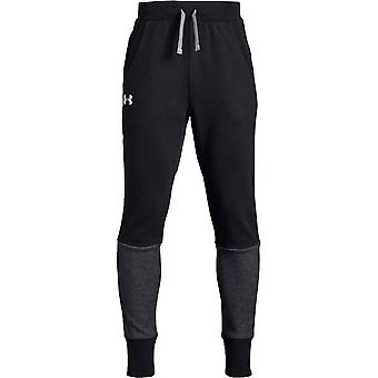 Under Armour Boys Double Knit Tapered Pant Schwarz