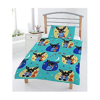Bing Bunny Bedtime 4 in 1 Junior Bedding Bundle Set (Duvet and Pillow
