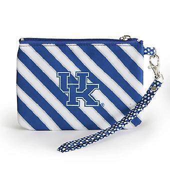 Kentucky Wildcats NCAA Striped Wristlet