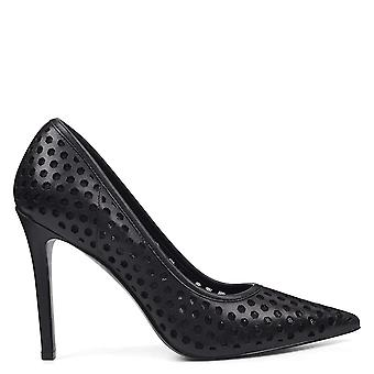 Neuf West Womens WNTRNSLTE-112 Fabric Pointed Toe Classic Pumps