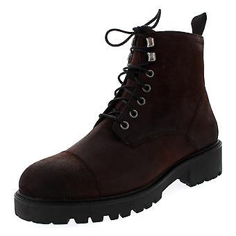 Womens Vagabond Kenova Espresso Brown militaire Shoe laarzen
