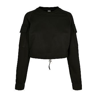Urban Classics Women's Sweatshirt Short Worker