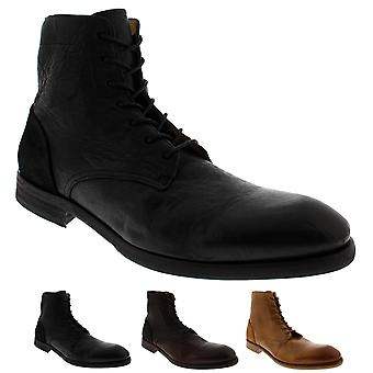 Mens H By Hudson Yoakley Calf Leather Smart Office Suit Work Chukka Boot