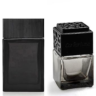 Tom Ford Noir For Him Inspired Fragrance 8ml Smoked Black Bottle Car Air Freshener Vent Clip