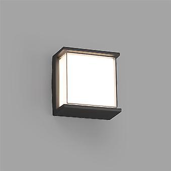 Faro Hikari - Outdoor LED Dunkelgrau Wandleuchte 10W 3000K IP65 - FARO71274