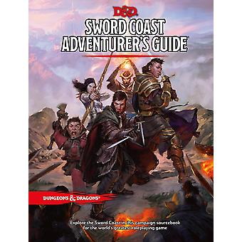 Dungeons & Dragons RPG Book - Sword Coast Adventurer & apos;s Przewodnik