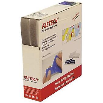 FASTECH® B20-STD082210 Hook-and-loop tape sew-on Hook and loop pad (L x W) 10 m x 20 mm Light grey 10 m