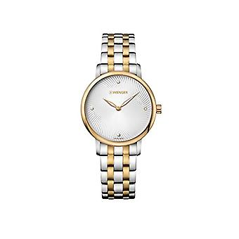 Wenger Unisex Quartz analogue watch with stainless steel band 01.1721.104