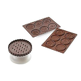 Silikomart Cookie Choc Kiertotie Set