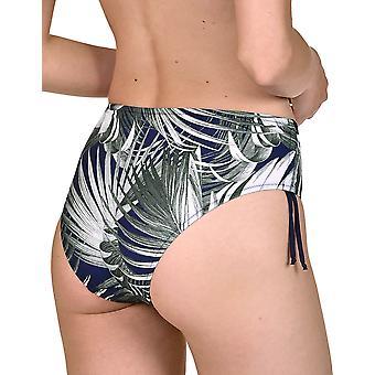 Lisca 41419-M4 Women's Buenos Aires Cobalt Blue Floral Bikini Short