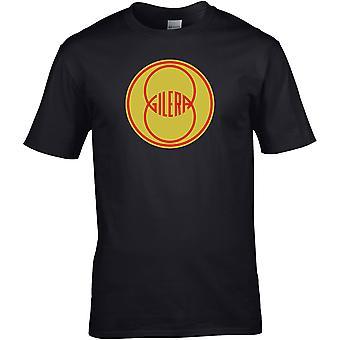 Gilera Classic - Motorrad Motorrad Biker - DTG gedruckt T-Shirt