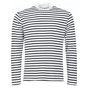 Barbour White Label Lanercost Long Sleeved Striped T-Shirt