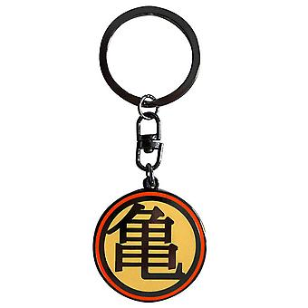 Dragon Ball Z Kame Logo Metal Keyring