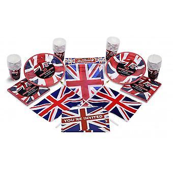 Union Jack Wear Union Jack Party Kit  VE Day Party Pack