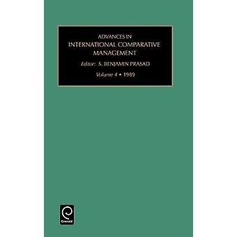 Framsteg inom internationell komparativ förvaltning Vol 4 av S. Benjamin Prasad & Benjamin Prasad