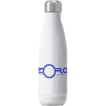 The Fifth Element Zorg Industries Logo Insulated Stainless Steel Water Bottle