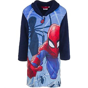 Spiderman boys dressing gown robe