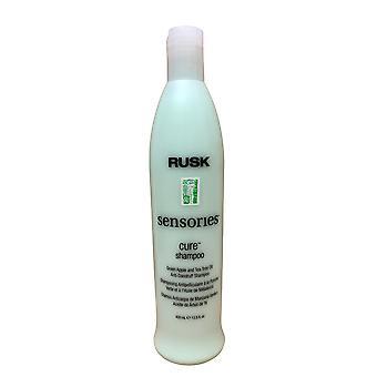 Rusk Sensories Cure Shampoo Anti Dandruff Shampoo 13.5 OZ