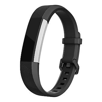 Replacement Bracelet Wristband Strap Wrist Band for Fitbit Alta & Alta HR Buckle[Black,Small] BUY 2 GET 1 FREE