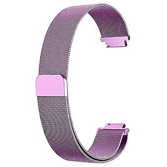Für Fitbit Inspire / Inspire HR Strap Milanese Band Edelstahl magnetic[Small (5.3